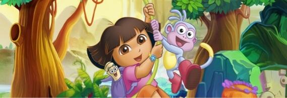 Banner da Dora Aventureira