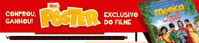 Banner Promocional da Turma da Mônica - Laços