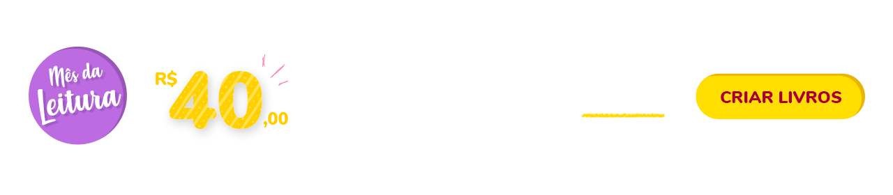 Banner Promocional do Mês da Leitura