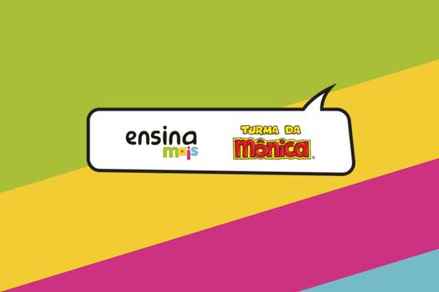 Imagem que demonstra a parceria do programa Ensina Mais e a editora Dentro da História