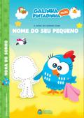 Capa do livro personalizado da Galinha Pintadinha em a Hora do Sonho