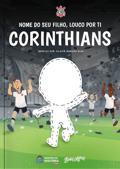 Capa do livro personalizado do Louco por Ti Corinthians