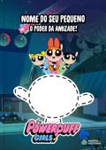 Capa do livro personalizado das Meninas Superpoderosas e o Poder da Amizade!