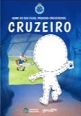 Capa do livro personalizado do Meu Pequeno Torcedor Cruzeirense do Cruzeiro