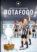 Capa do livro personalizado do Meu Pequeno Torcedor Glorioso do Botafogo