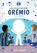 Capa do livro personalizado do Meu Pequeno Torcedor Imortal do Grêmio