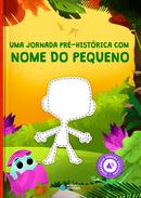 Capa do livro personalizado do Coleção Animais - Dinossauros