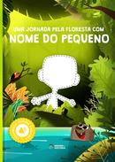Capa do livro personalizado do Floresta