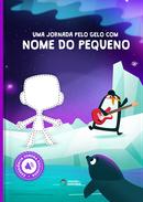 Capa do livro personalizado do Jornada pelo Gelo