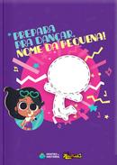 Capa do livro personalizado da Anittinha prepara para Dançar