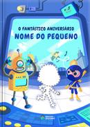 Capa do livro personalizado do Fantástico Aniversário