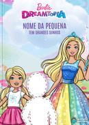 Capa do livro personalizado do Grandes Sonhos em Dreamtopia