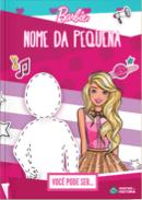 Capa do livro personalizado da Barbie - Você pode ser
