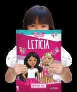 Um exemplar do livro personalizada Barbie - Você pode ser