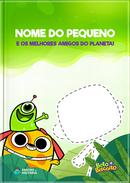 Capa do livro personalizado do Os Melhores Amigos do Planeta