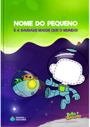 Capa do livro personalizado do Uma Saudade Maior que o Mundo
