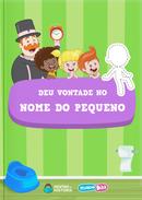 Capa do livro personalizado do Mundo Bita - Deu Vontade