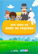 Capa do livro personalizado do Mundo Bita em Deu Fome