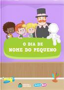 Capa do livro personalizado do Mundo Bita - O Dia