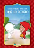 Capa do livro personalizado do O conto da Chapeuzinho