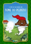 Capa do livro personalizado do O conto do Saci Pererê