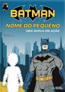 Capa do livro personalizado do Batman: Uma dupla em ação