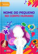 Capa do livro personalizado Discovery Kids - Corpo Humano