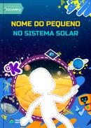 Capa do livro personalizado Discovery Kids - Sistema Solar