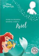 Capa do livro personalizado do Sensível como a Ariel