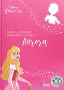 Capa do livro personalizado do Destemida como a Aurora