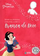 Capa do livro personalizado do Amigável como a Branca de Neve