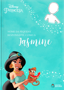 Capa do livro personalizado do Responsável como a Jasmine
