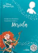 Capa do livro personalizado do Valente como a Merida