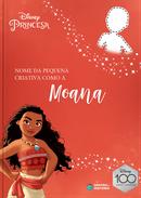 Capa do livro personalizado do Criativa como a Moana