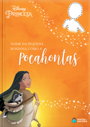 Capa do livro personalizado do Bondosa como a Pocahontas