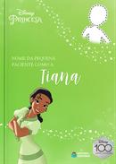 Capa do livro personalizado do Paciente como a Tiana
