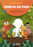 Capa do livro personalizado do Escola da Inteligência - Floresta Viva