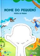 Capa do livro personalizado Visita das Fadas