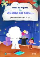 Capa do livro personalizado do Agora Sou