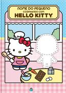 Capa do livro personalizado do Cozinhando com a Hello Kitty