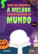 Capa do livro personalizado A Melhor Festa de Halloween