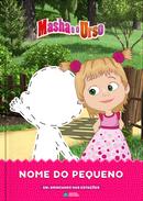 Capa do livro personalizado da Masha e o Urso
