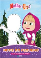 Capa do livro personalizado do Masha e o Urso em: Uma Surpresa para o Urso