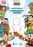 Capa do livro personalizado da Turma da Mônica - Brincadeiras Criativas