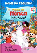 Capa do livro personalizado da Turma da Mônica - Festas Populares