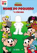 Capa do livro personalizado da Turma da Mônica - A Gincana