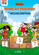 Capa do livro personalizado da Turma da Mônica - Mega Olimpíada