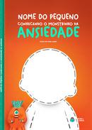 Capa do livro personalizado do Monstrinho da Ansiedade