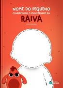 Capa do livro personalizado do Monstrinho da Raiva