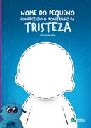 Capa do livro personalizado do Monstrinho da Tristeza